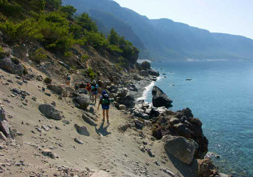 Walking, hiking, trekking on Crete: Best with an experienced guide